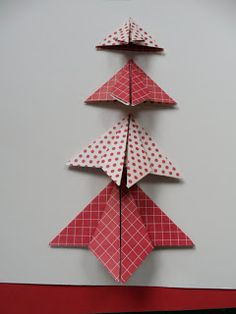 It's what I do: Origami Christmas Tree tutorial