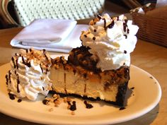 Snickers Cheesecake . #CheesecakeFactory