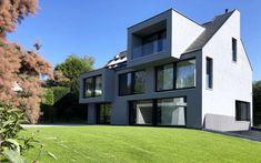 Einfamilienhaus Neubau - m3 Architekten #architekt #zürich #zuerich Mansions, House Styles, Home Decor, Architects, New Construction, Projects, Decoration Home, Room Decor, Fancy Houses