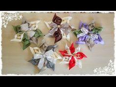 Stelle natalizie in pannolenci senza cucire - YouTube