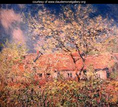 Springtime At Giverny - Claude Oscar Monet - www.claudemonetgallery.org