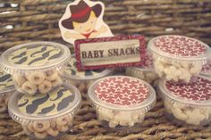 Vintage Cowboy First Birthday Party via Kara's Party Ideas | Kara'sPartyIdeas.com #vintage #cowboy #first #birthday #party #supplies #ideas (31)