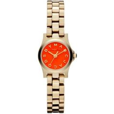Marc by Marc Jacobs Henry Dinky Gold Tone Womens Watch MBM3202. #Fashion  #Watch