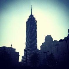 Buenos días!! @iF4bian #centroDF  #CDMX #TorreLatino #TorreLatinoamericana #centrohistóricodf #DF #City