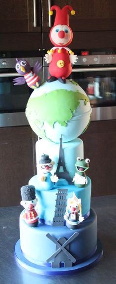 Mega jokie & Jet taart gemaakt door Edwin`s Finest