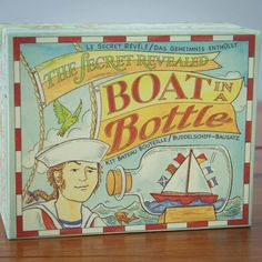 Boat in a Bottle Kit | Ivy Lace Gifts