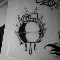 WEBSTA @ matt_pettis_tattoo - #tattoo #tattoos #tats #tattoodesign #tattooart #tattooflash #art #ink #inked #bodyart #flash #doodle #drawing #sketch #artwork #artist #blackwork #blackworkers #blackworker #oldschool #oldschooltattoo #traditionaltattoo #blacktattooart #blacktattoo #londontattoo #uktattoo #dotwork #dotworkers #dotworktattoo #handgrenade
