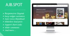 AjbSpot is a clean, stylish and professionally designed template for anyone who wants to make great website or internet businesses. This template is perfect choice for newspaper, magazine, edito. Free Web Design, Site Design, Joomla Themes, Movie Website, Free Website Templates, Simple Blog, Twitter Image, Responsive Layout, Drupal
