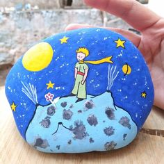 Pebble Painting, Pebble Art, Stone Painting, Rock Crafts, Diy And Crafts, Painted Rocks Craft, Rock And Pebbles, The Little Prince, Shell Art