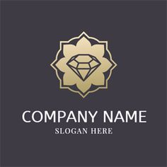 DesignEvo's online jewelry logo maker provides an easy way for you to create beautiful jewelry logo designs with millions of icons. No design experience needed, try it for free now! Diamond Logo, Black Diamond, Logo Design, Golden Flower, Jewelry Logo, Logo Maker, Company Names, Logo Templates, Slogan