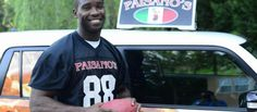 Redskin Wide Receiver Delivering Pizza to One Lucky Person | Pizza Oven | All Things Pizza