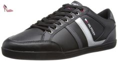 Tommy Hilfiger Rickey 1a, Sneakers Basses Homme - Noir (Black), 41 EU - Chaussures tommy hilfiger (*Partner-Link)