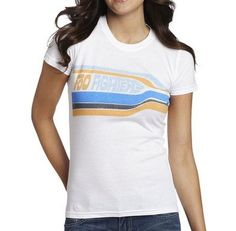 Foo Fighters - Racing Stripes WOMENS GIRLS T-shirt - Official - Free Shipping