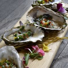 Oysters on the Half Shell. Pair With Nº 19 Chardonnay