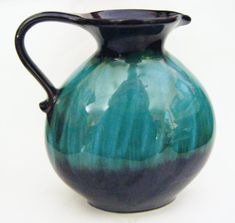 Gorgeous Mid Century Canadian Art Pottery Pitcher by parkledge, $150.00
