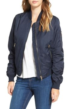 Topshop MA1 Bomber Jacket available at #Nordstrom