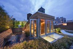 Ático reformado tipo loft / Joel Sanders, Broadway http://www.arquitexs.com/2012/09/atico-tipo-loft-de-joel-sanders.html