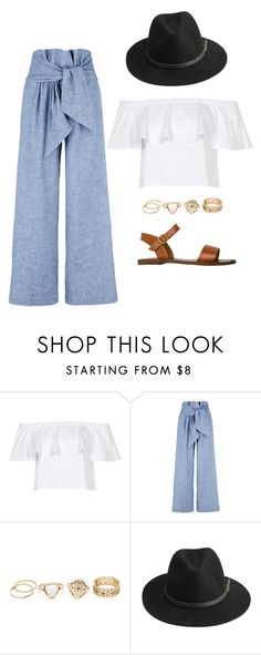 """""""Untitled #74"""" by tropicaldoze ❤ liked on Polyvore featuring Topshop, MSGM, BeckSöndergaard and Steve Madden"""