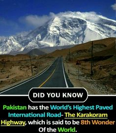 Proud to be PAKISTANI.... Wierd Facts, Wow Facts, Intresting Facts, Real Facts, Wtf Fun Facts, True Facts, Some Amazing Facts, Interesting Facts About World, Unbelievable Facts