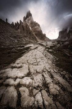 Bad Mountain by Rossano Ferrari..... #mountains #italy #mountain #alps #dolomites #dolomiti #trentino #veneto #trecimedilavaredo