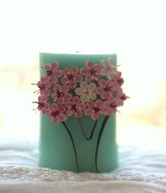 Vela perfumada decorativa - Cerejeira