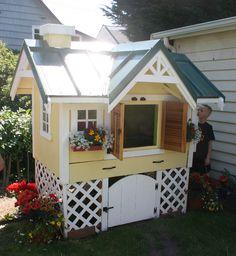 chicken coop in the backyard! #pinmydreambackyard