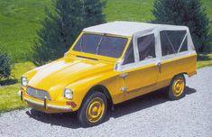 Citroën Dyane Tout-chemin par Heuliez, 1968.