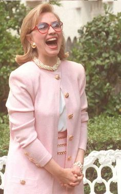 hillary clinton pink - Google Search
