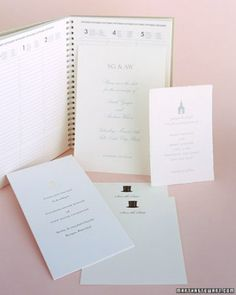"""See the """"Traditional Cards"""" in our Creative DIY Save-the-Dates gallery"""