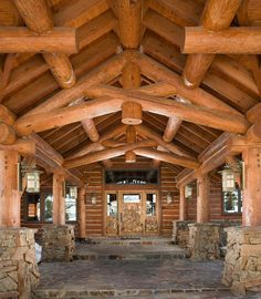 To create the new, and unique log home, can take you in unique directions. We are ready & experienced to build the building that exists only in the mind's eye of the architect, and the client vision.
