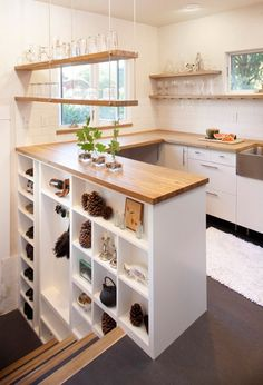 ne 21st ave kitchen remodel countertops and floating shelves constructed of oak from sauvie island cabinet lighting fsc