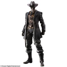 Metal Gear Solid V The Phantom Pain Play Arts Kai Actionfigur Skull Face 27 cm