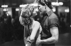 """""""Nobody puts Baby in a corner!"""" The blockbuster """"Dirty Dancing,"""" starring Patrick Swayze and Jennifer Grey, had its New York premiere on this date in. Iconic Movies, Old Movies, Classic Movies, Patrick Swayze, Movie Couples, Cute Couples, Jennifer Grey, Dirty Dancing, Dancing Baby"""