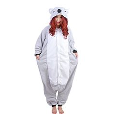 Introducing Hoodie for Adult Sleepwear Onesie Cosplay Pajamas Grey Kola L. Get Your Ladies Products Here and follow us for more updates!