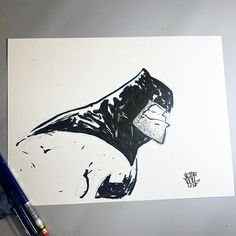 Instagram Skottie Young, Dark Knight, Dc Comics, Batman, Ink, Instagram, Artwork, Random, Art Work