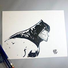 Instagram Skottie Young, Dark Knight, Dc Comics, Batman, Ink, Instagram, Artwork, Random, Work Of Art
