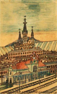 Nikifor Krynicki Grandma Moses, Henri Rousseau, Art Brut, Naive Art, Taj Mahal, Louvre, Nice, Building, Paintings