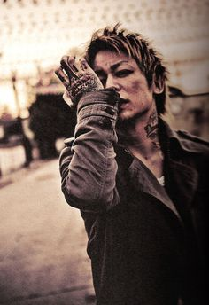 One of my many heros: Kyo the vocalist from Dir en grey