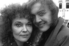 Grace Zabriskie (Sarah Palmer) & Catherine Coulson (The Log Lady) On the set of Twin Peaks: Fire Walk With Me. Photo by Richard Beymer (a.k.a. Ben Horne).