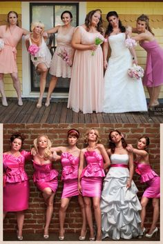 Bridesmaids Photo I Hope Our Wedding Is Not Like Though It Would Be Quite Funny