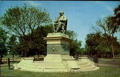 Bridgeport: P. T. Barnum Statue