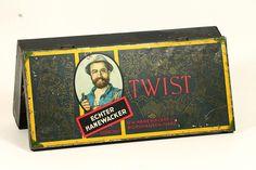 Alte Blechdose Seemann Kautabak Hanewacker Twist - Nordhausen - 1920's