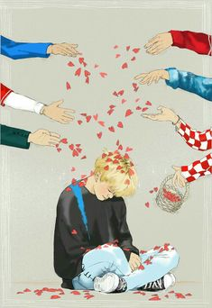 Jimin fanart ❤ (Yes, shower him with love and affection like he so deserves!) credits to owner Jimin Fanart, Fanart Kpop, Bts Chibi, Bts Jimin, Bts Bangtan Boy, K Pop, Digimon, Bts Memes, Character Concept