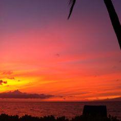 Wailea, Maui sunset