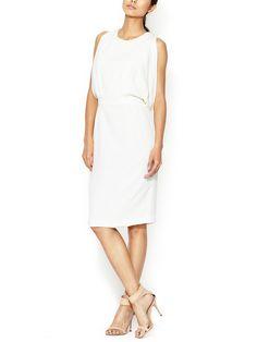 Silk Crepe Draped Dress by Thakoon at Gilt