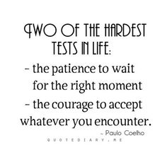 Sometimes we are tested not to show our weaknesses, but to discover our strengths. Don't give up #TTC
