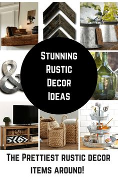 Rustic Home Decor Ideas – Princess Pinky Girl – Home Decor Inspiration
