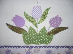 Resultado de imagen para patchwork tulipas