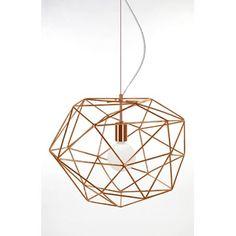 Diamond taklampe from Globen Pendant Design, Lamp Design, Lantern Pendant, Pendant Lighting, Ceiling Lamp, Ceiling Lights, Copper Lamps, Brass, Metal Bar