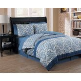 Found it at Wayfair - Corsica 8 Piece Bed-In-a-Bag Set